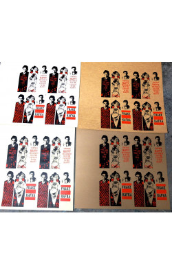 Hand made bookmark Mucha/Kafka