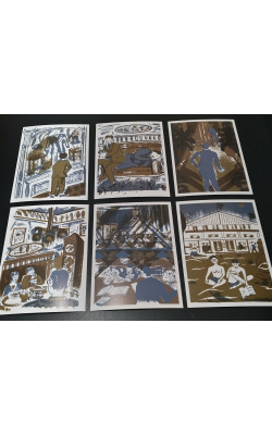 Postcard set Kafka II.