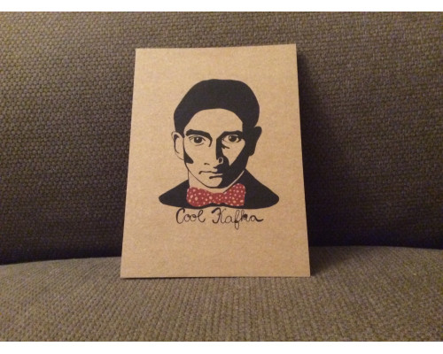 Postcard Cool Kafka