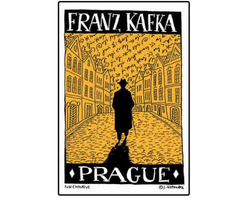 Poster walking Kafka